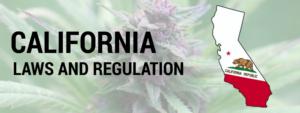 California LAWS AND REGULATION Header